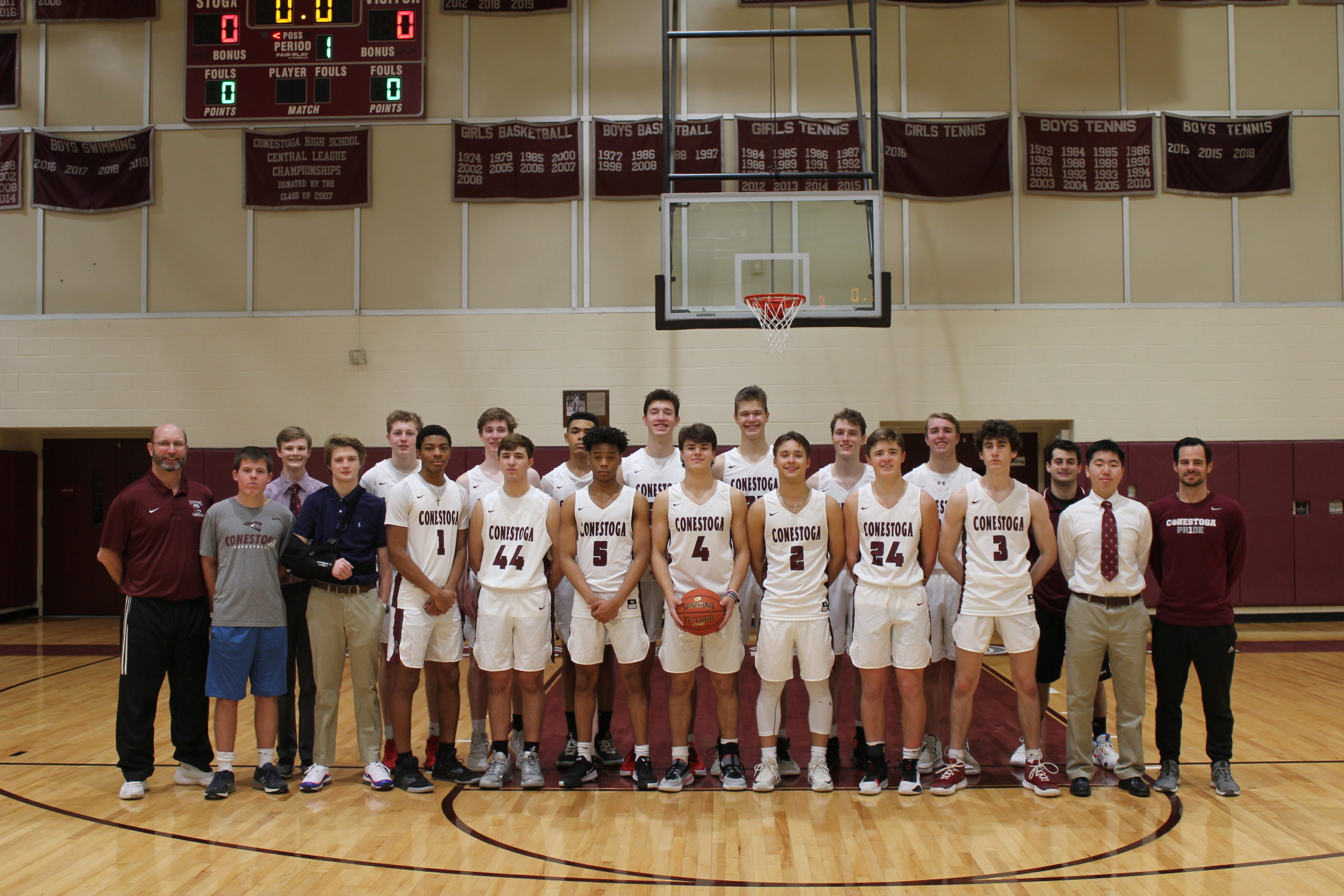 2019-2020 Varsity Basketball Team