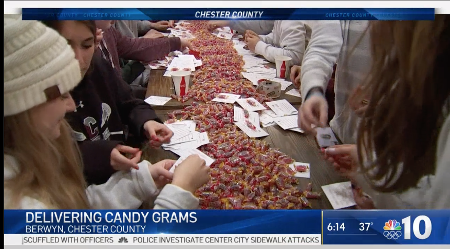 'Stoga Basketball Packs Candy Grams With a Purpose